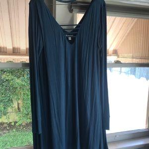 Teal Brass plum Nordstrom dress